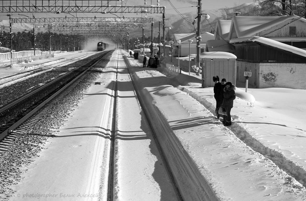 ЖД станция Байкальск